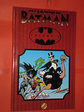 GLI ARCHIVI DI BATMAN- N° 6-TIRATURA LIMITATA  A COLORI -DI BOB KANE -PLAY PRESS