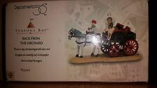 Dept 56, Seasons Bay, Back From The Orchard, # 53329, NIB Intro 1998 Ret 2001