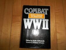 Combat WWII Pacific Theater Of Operations Don Congdon HC/DJ