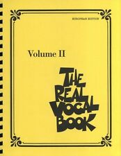 The Real Vocal Book Volume II European Edition