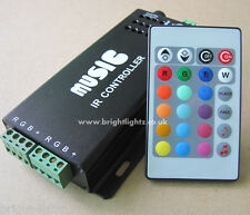 12V 10A MUSIC SOUND CONTROLLER FOR RGB LED STRIP LIGHTS