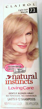 Clairol Natural Instincts Loving Care Non Permanent # 73 Light Ash Blonde VHTF