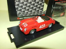 Rare 1/43 Porsche 356 Speedster Mille Miglia 1952  Brumm Italia R207