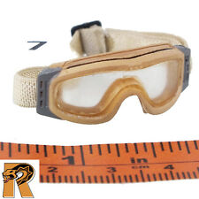 MISC PARTS : Goggles - Tan Goggles #7- 1/6 Scale Action Figures