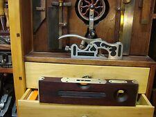 """Antique Keen Kutter 12"""" No KS3 Brass Trim Level & Plumb EC Simmons Disston Made"""