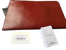 "Paul Smith Saffiano Leather documento Pouch / 11 ""MacBook Air Custodia / iPad"