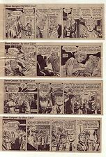 Steve Canyon by Milton Caniff - 25 daily comic strips from October 1971