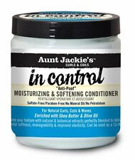 Aunt Jackie's In Control Moisturizing and Softening Conditioner, 15 oz (4 pack)