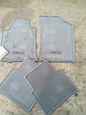 NEW OEM 2007-2008 NISSAN ALTIMA 4PC CARPET FLOOR MAT SET - FROST (LIGHT GREY)