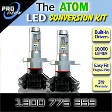 H4 H/L LED Conversion Kit - Up to 10,000 Lumen - Philips Luxeon ZE S LED's