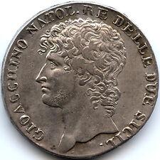 Italy 1810 Gioacchino Napoleone Murat Piastra Dodici Carlini Rarity R2!! PCGS