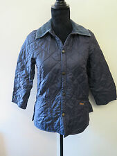 "Barbour D295 Liddesdale Quilted jacket XS UK 6-8"" Euro 34-36 in Navy blue"