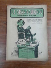 Revue LE GRAND GUIGNOL PAMPHLETAIRE ILLUSTRE No 10 (11 Janv.1922) Maurice Barrès