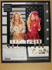 2002 David LaChapelle photo Kohler Memoirs Faucet 'As I See It' print Ad