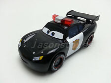Mattel Disney Pixar Cars Police Lightning McQueen Metal Toy Car 1:55 Loose New