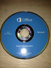 Microsoft Office Home and Business 2013 with Product Key Card and DVD