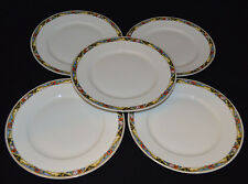 TK Thuny Czechoslovakia Lot Of (5) Dinner Plates.