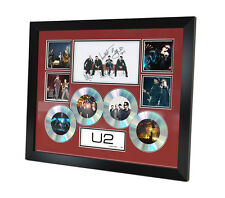 U2 Signed photo Music Memorabilia Limited Edition of 250 & FRAMED