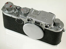 Leica IIF Body chassis Rangefinder m39 LTM Classic 454432 1/1000th Black Dial