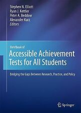 Handbook of Accessible Achievement Tests for All Students : Bridging the Gaps...