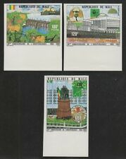 MALI #388-390 MNH IMPERFORATE 1980 Anniversary of Independence