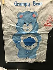 Care Bear Pillow Fabric Cut Out Bedtime Friend