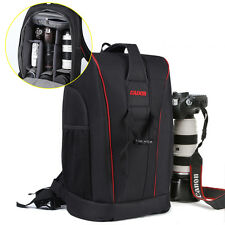 DSLR Digital Camera Backpack Bag Rucksack with Rain Cover for Canon Nikon Sony