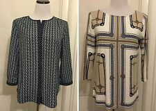 Talbots Top Blouse LOT OF 2 Nautical Chains Size Medium M