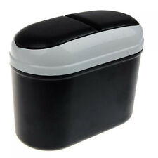 Mini Car Trash Rubbish Can Garbage Dust Case Holder Bin ED