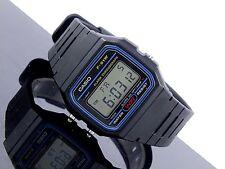 Casio F-91W-1D Classic Retro Digital WR Stopwatch Black Watch F-91W-1