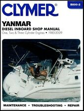 CLYMER YANMAR DIESEL 2GM20F INBOARD SHOP SERVICE REPAIR MANUAL 1980-2009