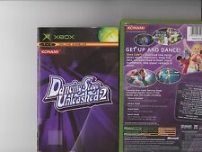 DANCING STAGE UNLEASHED 2 XBOX / X BOX RARE DANCE MAT GAME