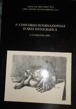 3 CONCORSO INTERNAZIONALE D'ARTE FOTOGRAFICA 1994 FOTOCLUB ARTI VISIVE AA600