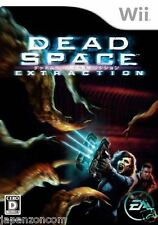 Used Wii Dead Space Extraction Nintendo JAPAN JP JAPANESE JAPONAIS IMPORT