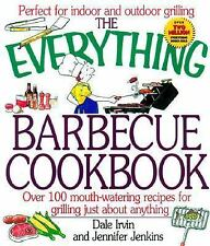 The Everything Barbecue Book  over 100 recipes for grilling just about-ExLibrary