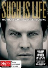 Such Is Life - The Troubled Times Of Ben Cousins (DVD, 2010)**R4**Excellent Con