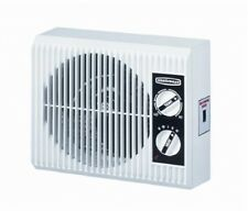 Electric Space Heater Fan Outlet Wall Mount Bathroom Bedroom Space Saver 1500W