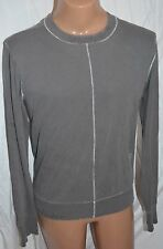 J LINDEBERG gray long sleeve t shirt top size XL CREW NECK COTTON SWEAT SHIRT