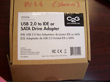 NEW IN BOX CABLES TO GO 30504 USB 2.0 to IDE or SATA Drive Adapter