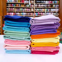1/2 METRES of Premium Wool Blend Felt 40% wool, 60 colours to choose from