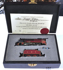 BACHMAN ROYAL SCOT MODEL LOCO LIMITED EDITION #392 NEVER RUN FREE SHIPPING