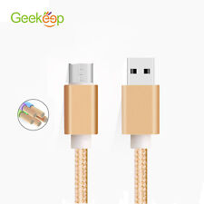 Geekeep 2A Metal Braided  Lightning to USB Cable 1M -  For iPhone 5 5S 6 6s Plus