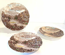 Johnson Brothers Olde English Countryside - Set of 2 Small Plates + 1 Saucer,