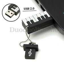 Cartoon Mini Piano 64GB USB 2.0 Flash Memory Stick Pen Drive Thumb U Disk Gift