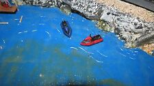 Ho scale Jet Skis-  Pair of jet skis- one red one blue