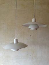 2 ORIGINAL PH4/3 - POUL HENNINGSEN LOUIS POULSEN DANISH VINTAGE LAMPS IN WHITE