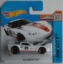 Hot Wheels - ´09 / 2009 Chevy Corvette ZR1 weiß GULF Neu/OVP
