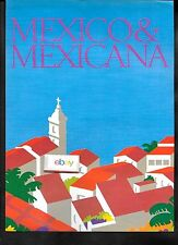 MEXICO & MEXICANA AIRLINES A WHOLE COUNTRY CLOSER 727 2 PG PUERTO VALLARTA AD