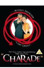 Charade 1963 DVD Cary Grant Audrey Hepburn New and Sealed UK Release R2