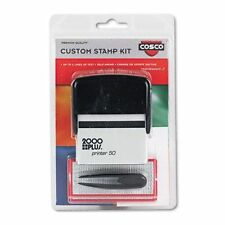 Make Your Own Self-Inking Stamp, Up To 8 Lines, 725 Characters, Black Ink